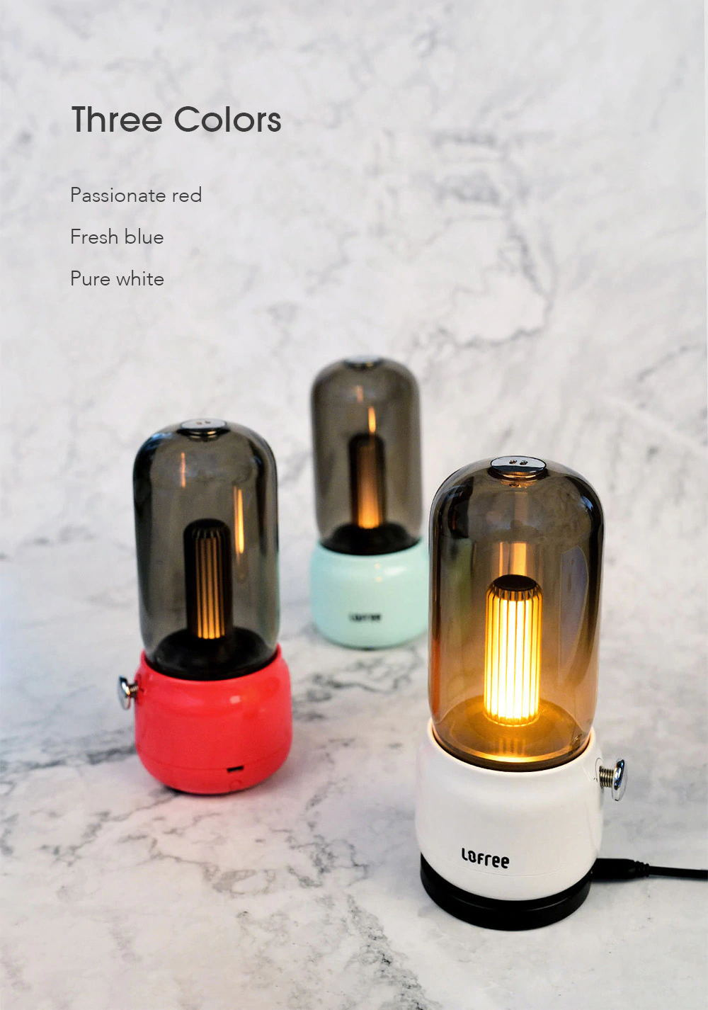 best lofree candly lamp