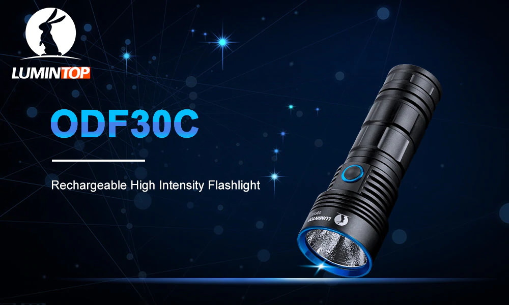 lumintop odf30c led flashlight