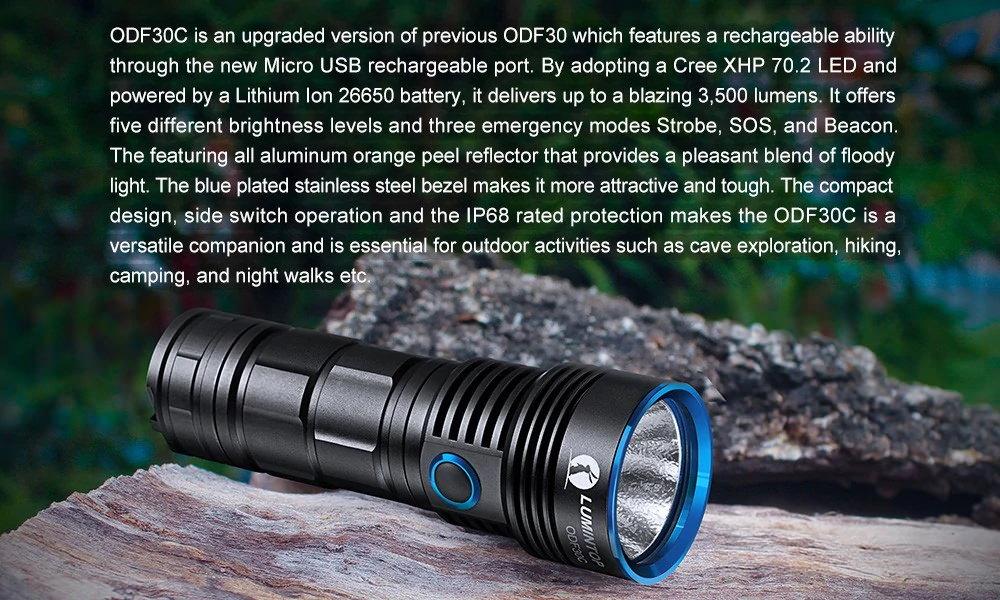 lumintop odf30c flashlight