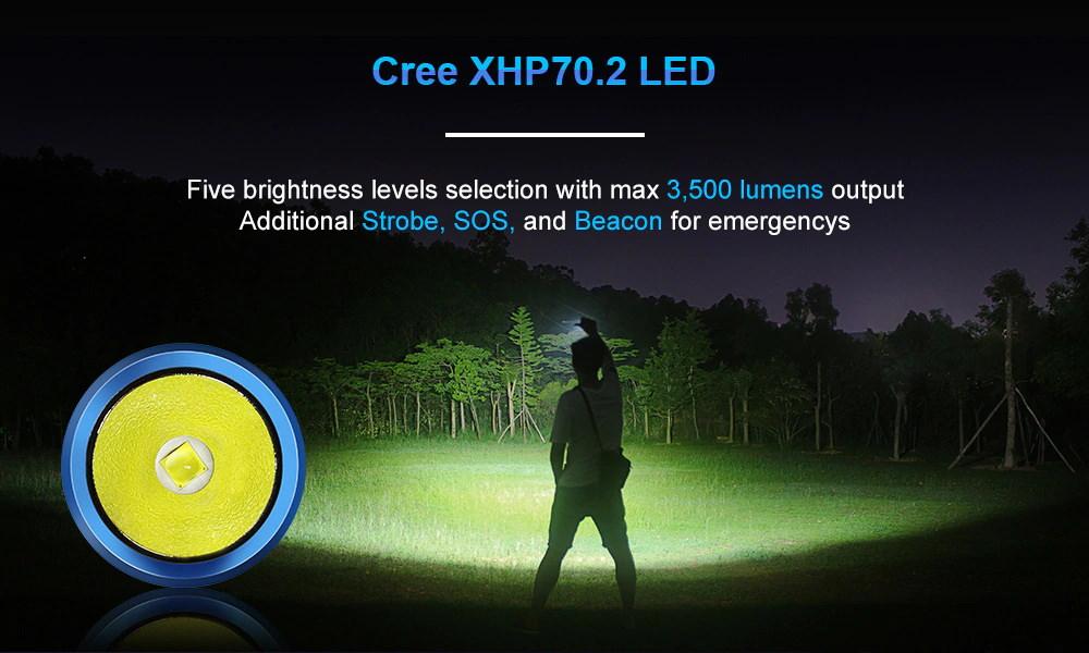 odf30c led flashlight
