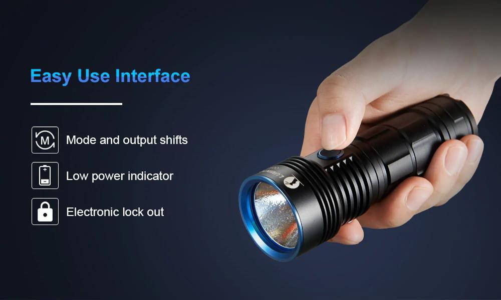buy lumintop odf30c led flashlight