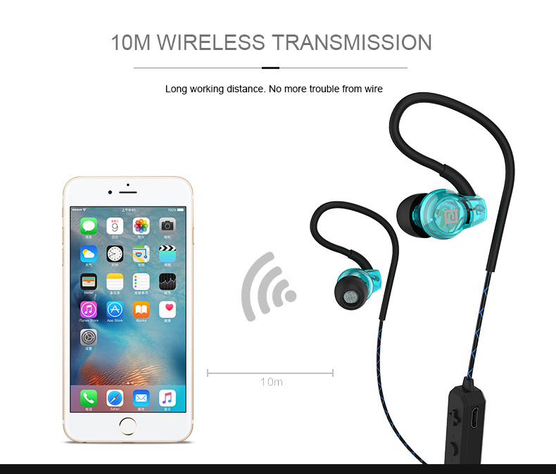 langsdom bs80 wireless bluetooth earphone