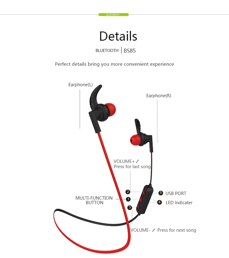langsdom bs85 bluetooth earphone price