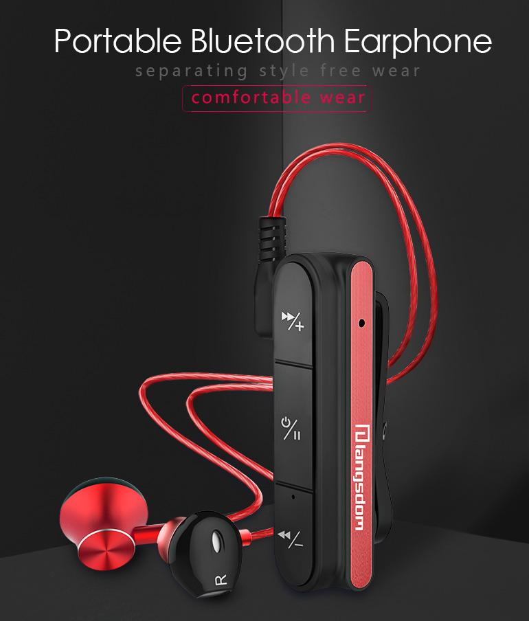 langsdom bx10 clip bluetooth earphone