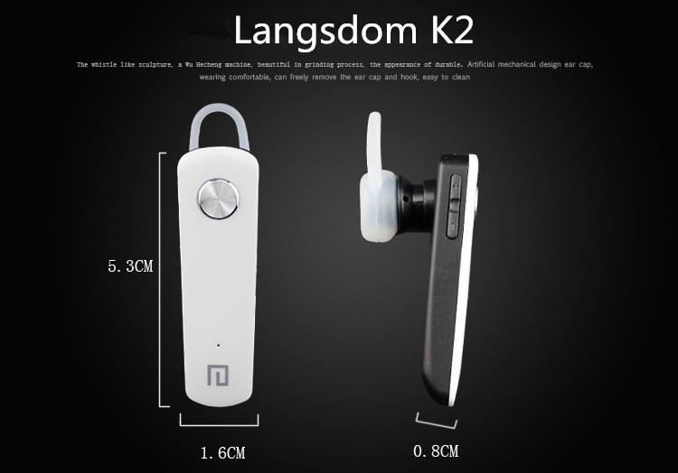 langsdom k2 earphone