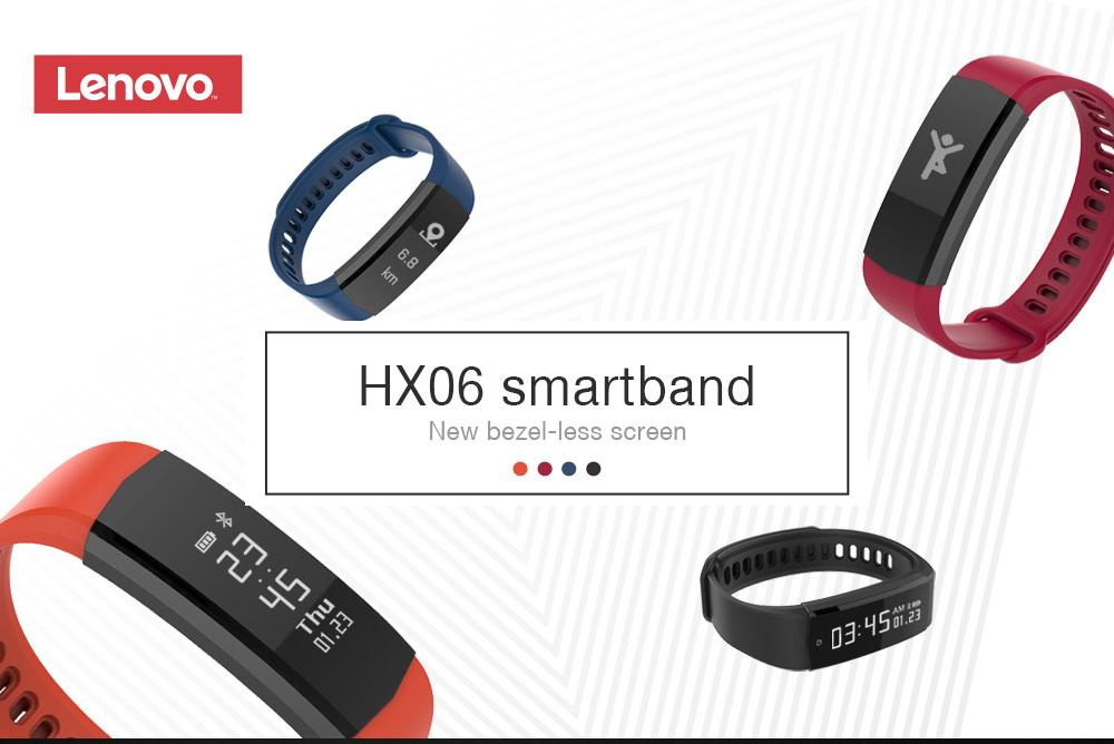 lenovo hx06 smart wristband