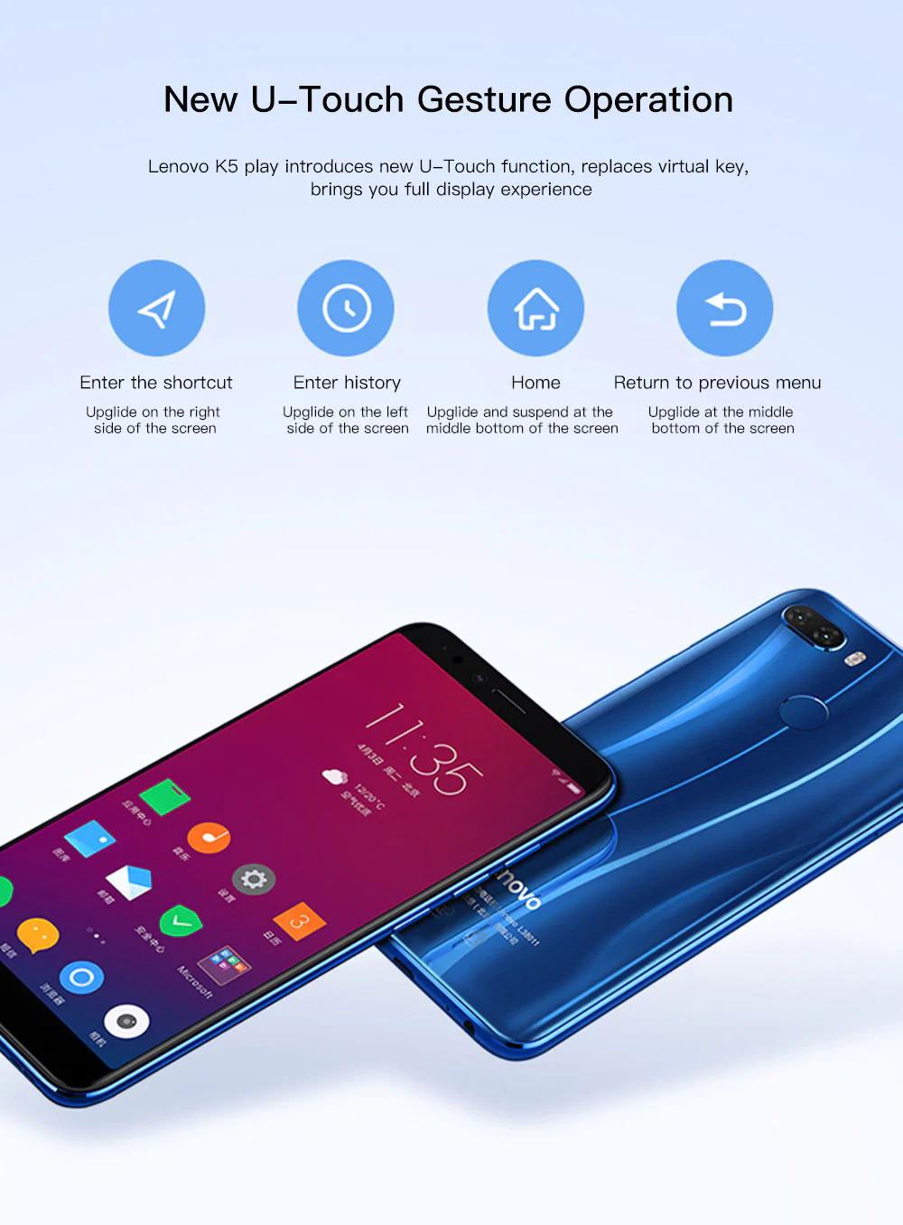 lenovo k5 play 4g smartphone price
