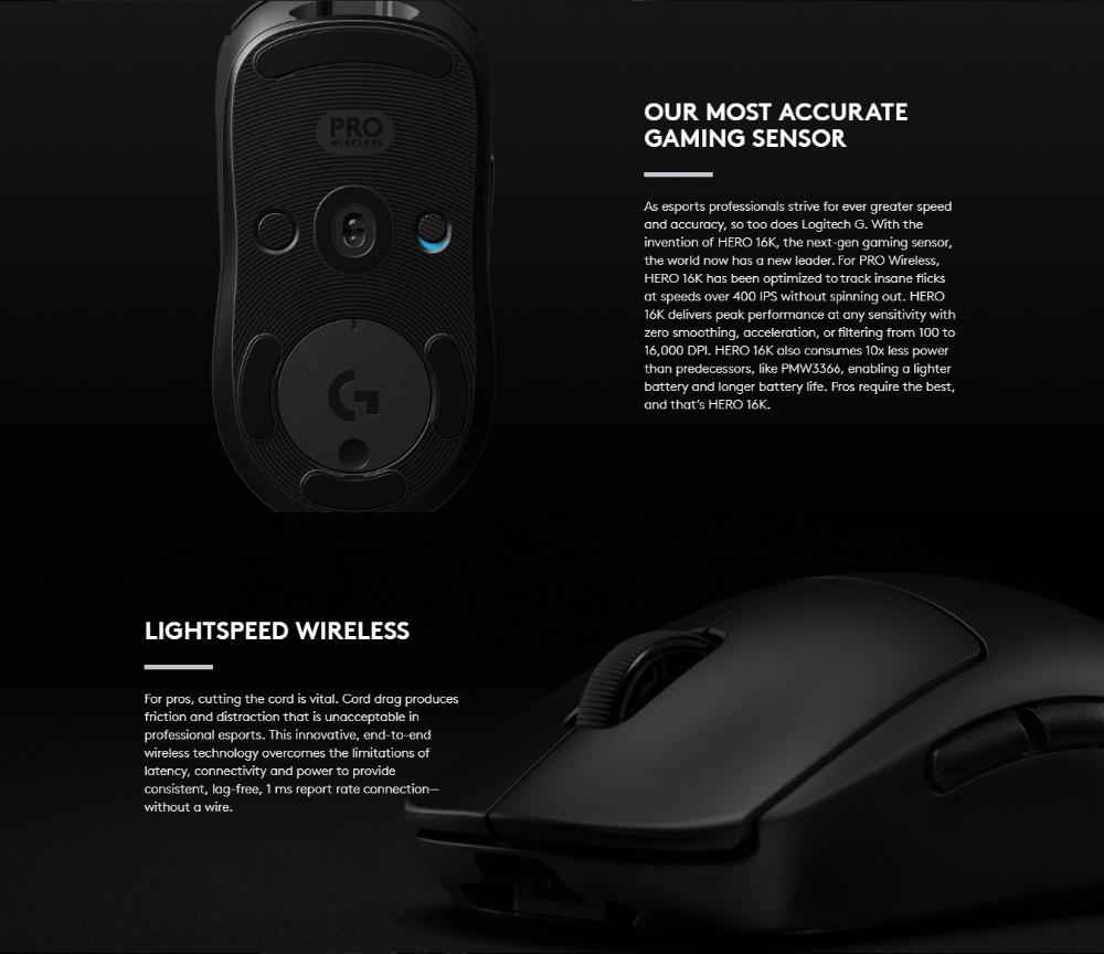 logitech g pro mouse price