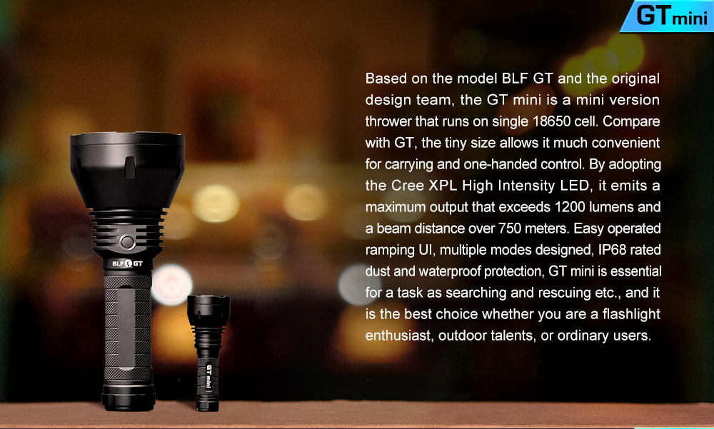 lumintop gt mini flashlight
