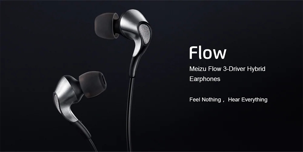 meizu flow earphones three hybrid units