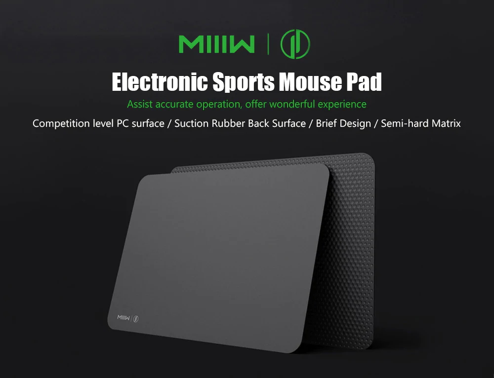 miiiw mwgp01 pc anti-skid gaming mouse pad