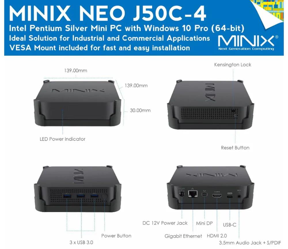 minix neo j50c-4 online