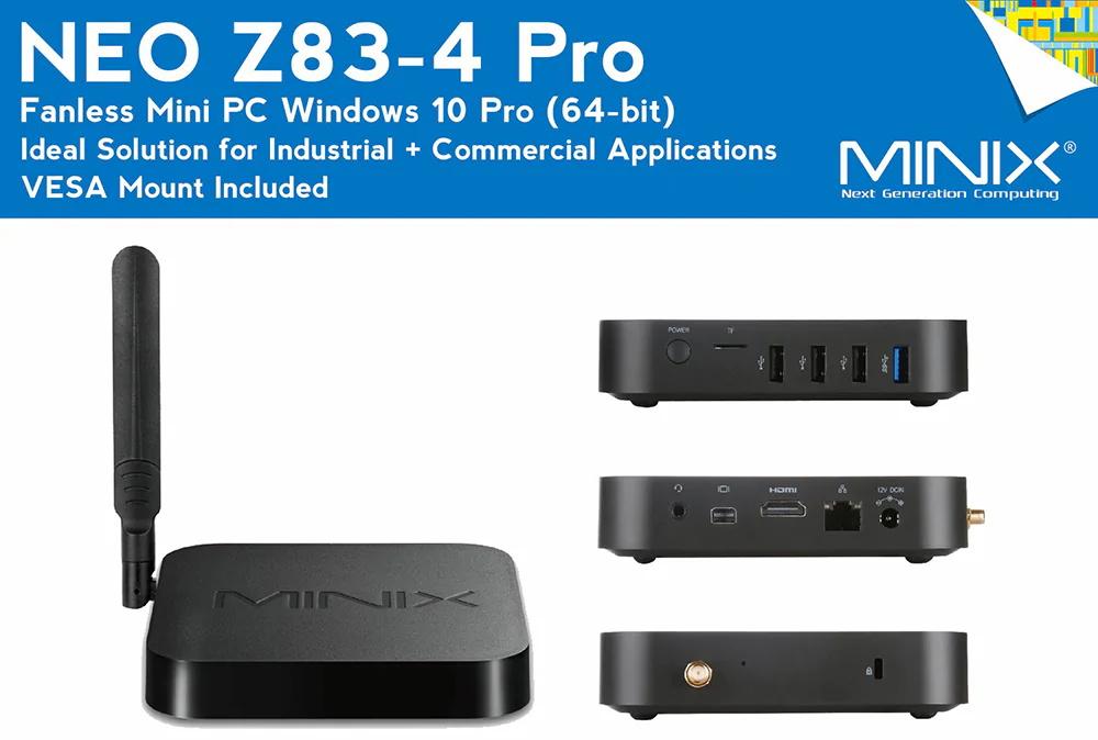 minix neo z83-4 pro mini pc
