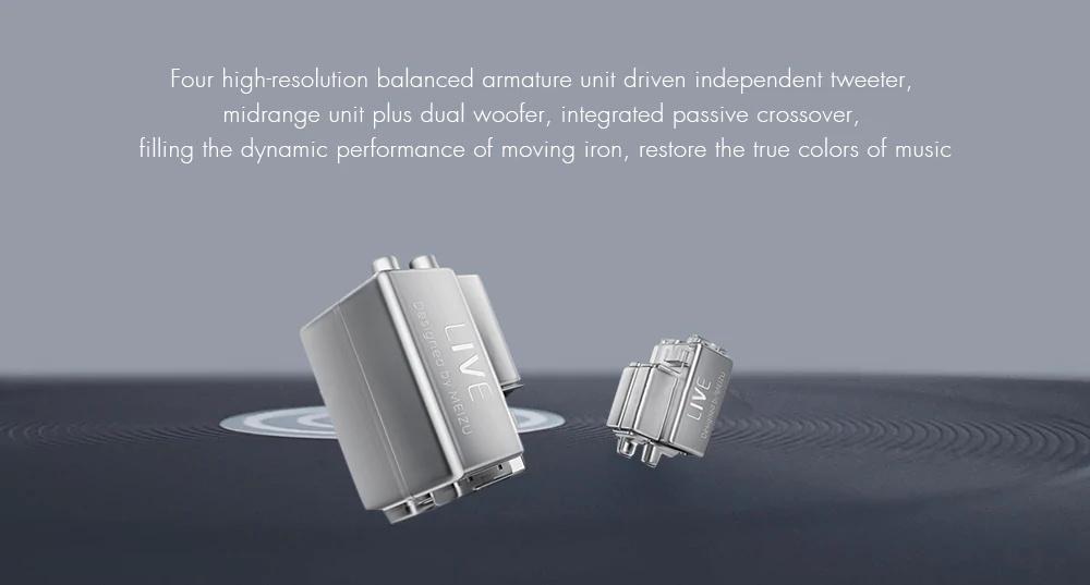 meizu quad-driver earphone