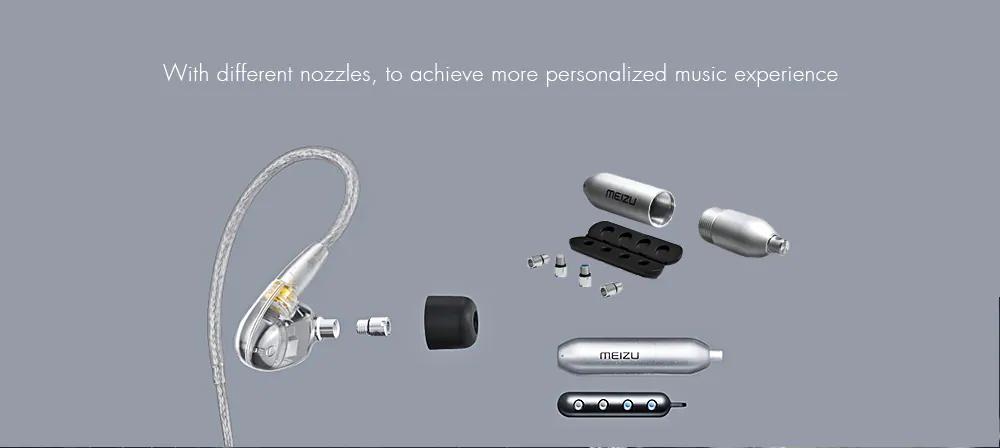 buy meizu live quad-driver earphone
