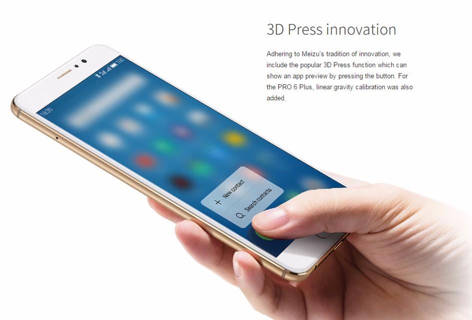 cheap meizu pro 6 plus smartphone
