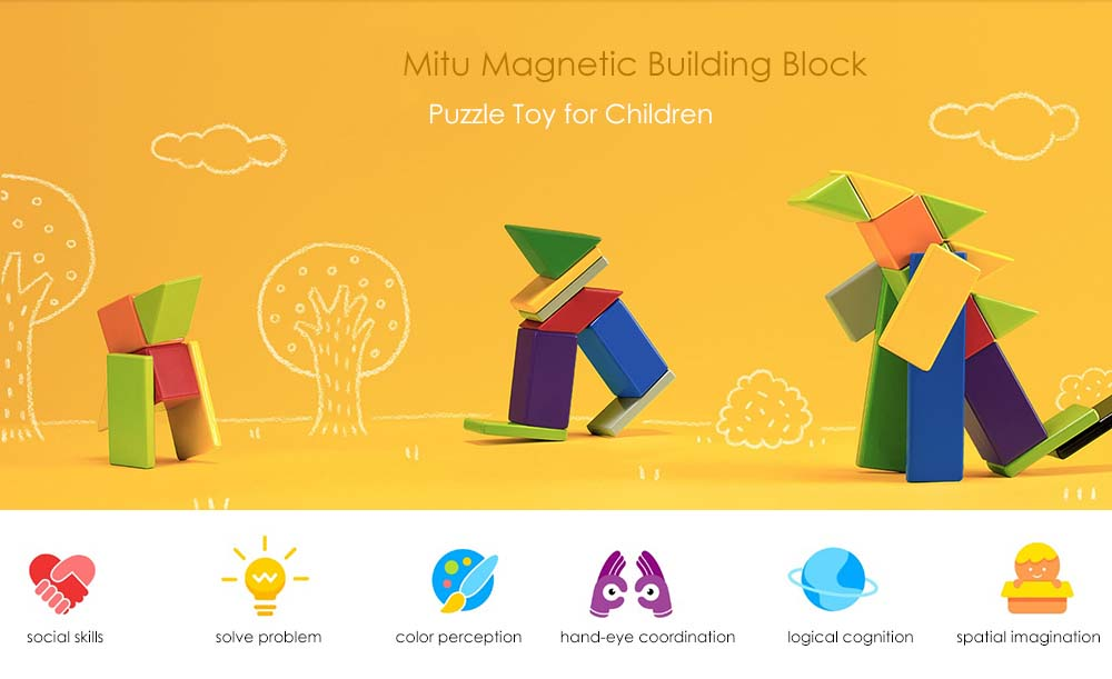 mitu mtjm01mt magnetic building block