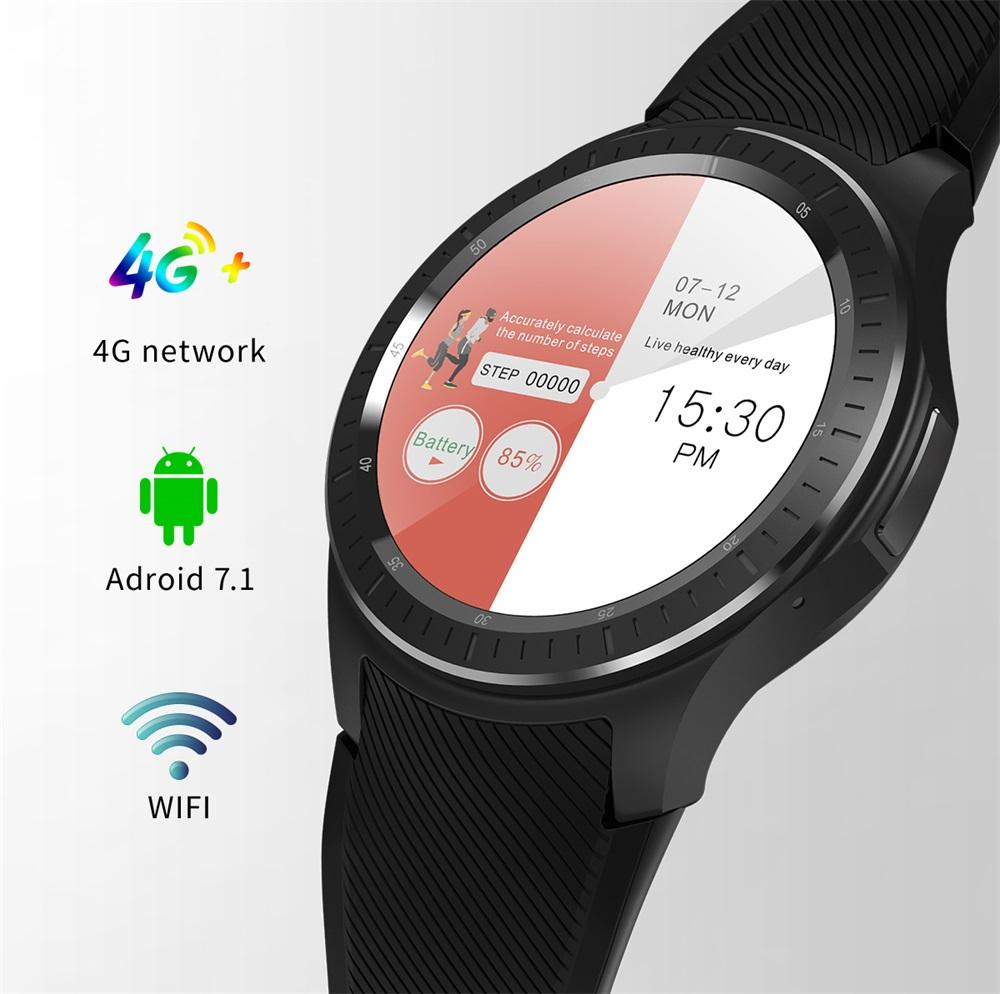 Teléfono reloj inteligente DM368 Plus de Microwear siempre es la correcta para usted Microwear-DM368-Plus-Smartwatch-Phone-1