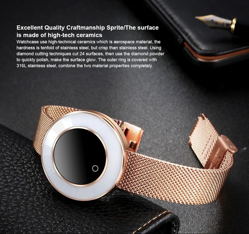 microwear x6 women smart bracelet