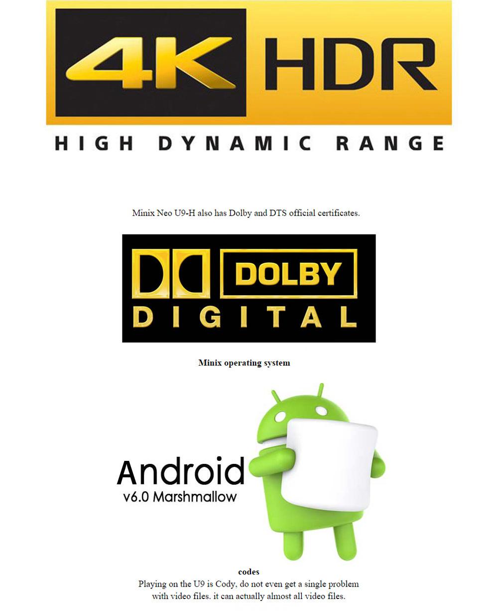 minix neo u9 - h 4k tv box