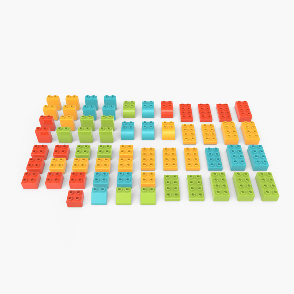 mitu animal zoo building blocks