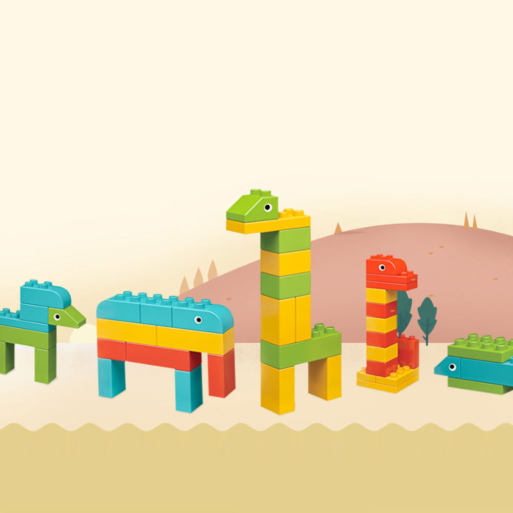 xiaomi animal zoo building blocks online