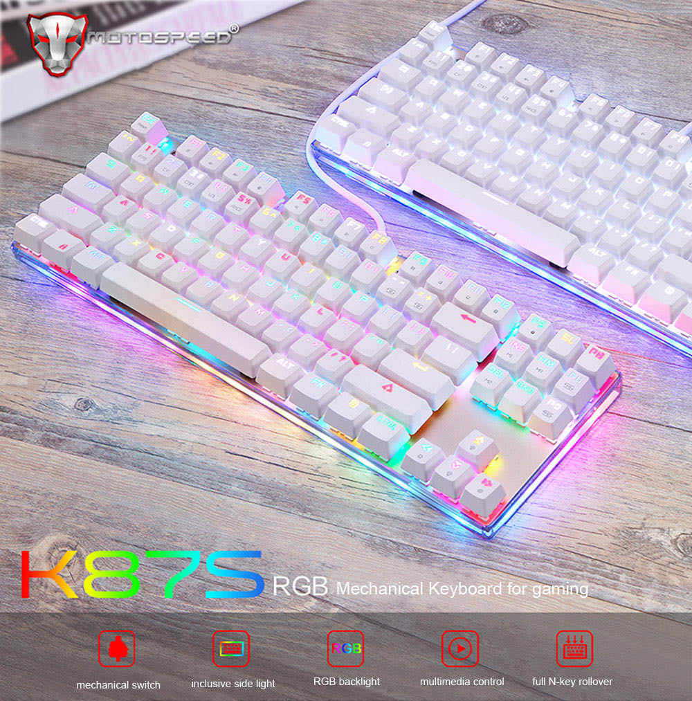 motospeed k87s mechanical keyboard