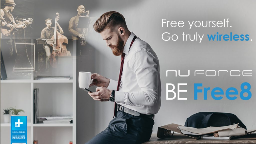 nuforce be free8 earphones