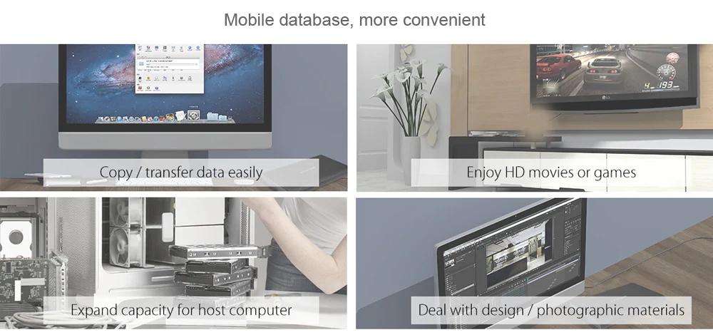 orico external hard drive enclosure