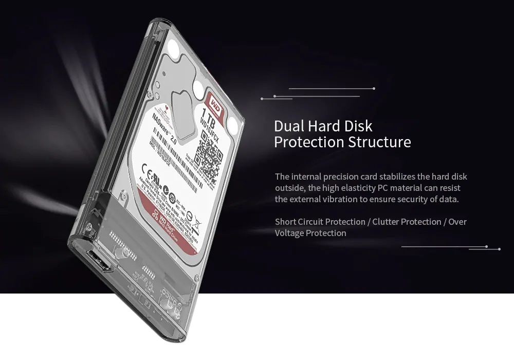 orico hard drive enclosure sale