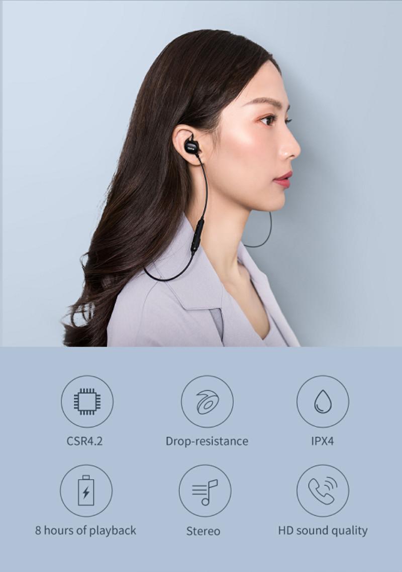 qcy e2 earphones