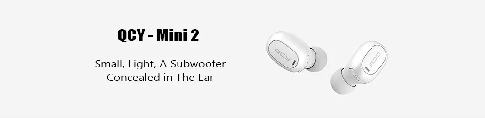 qcy mini 2 bluetooth earphone
