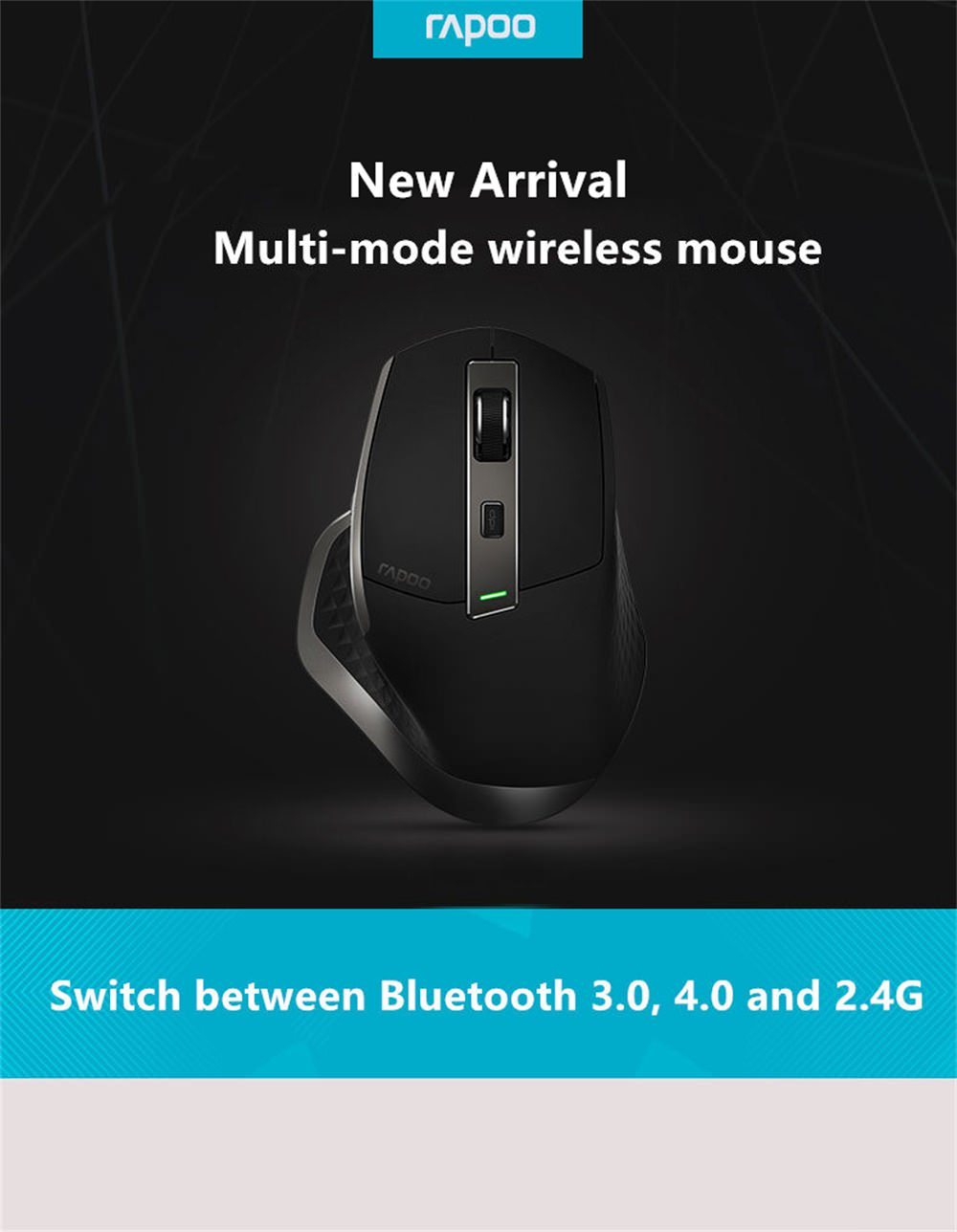 rapoo mt750 wireless mouse