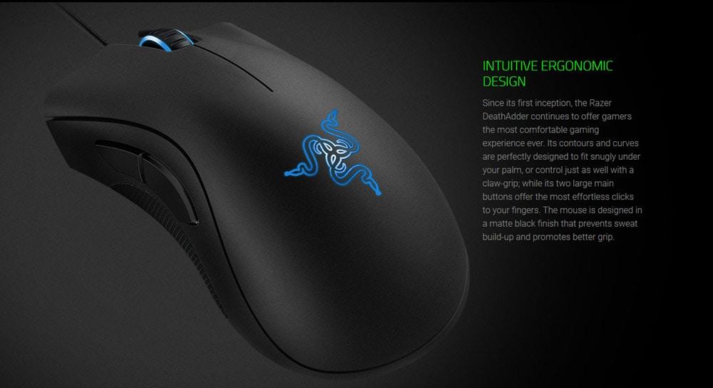 razer deathadder wired mouse
