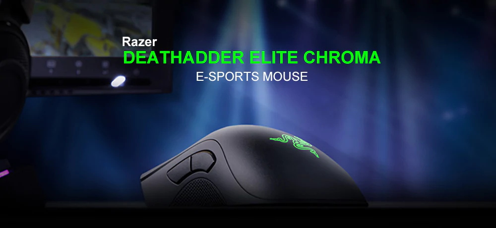 razer deathadder elite chroma mechanical mouse