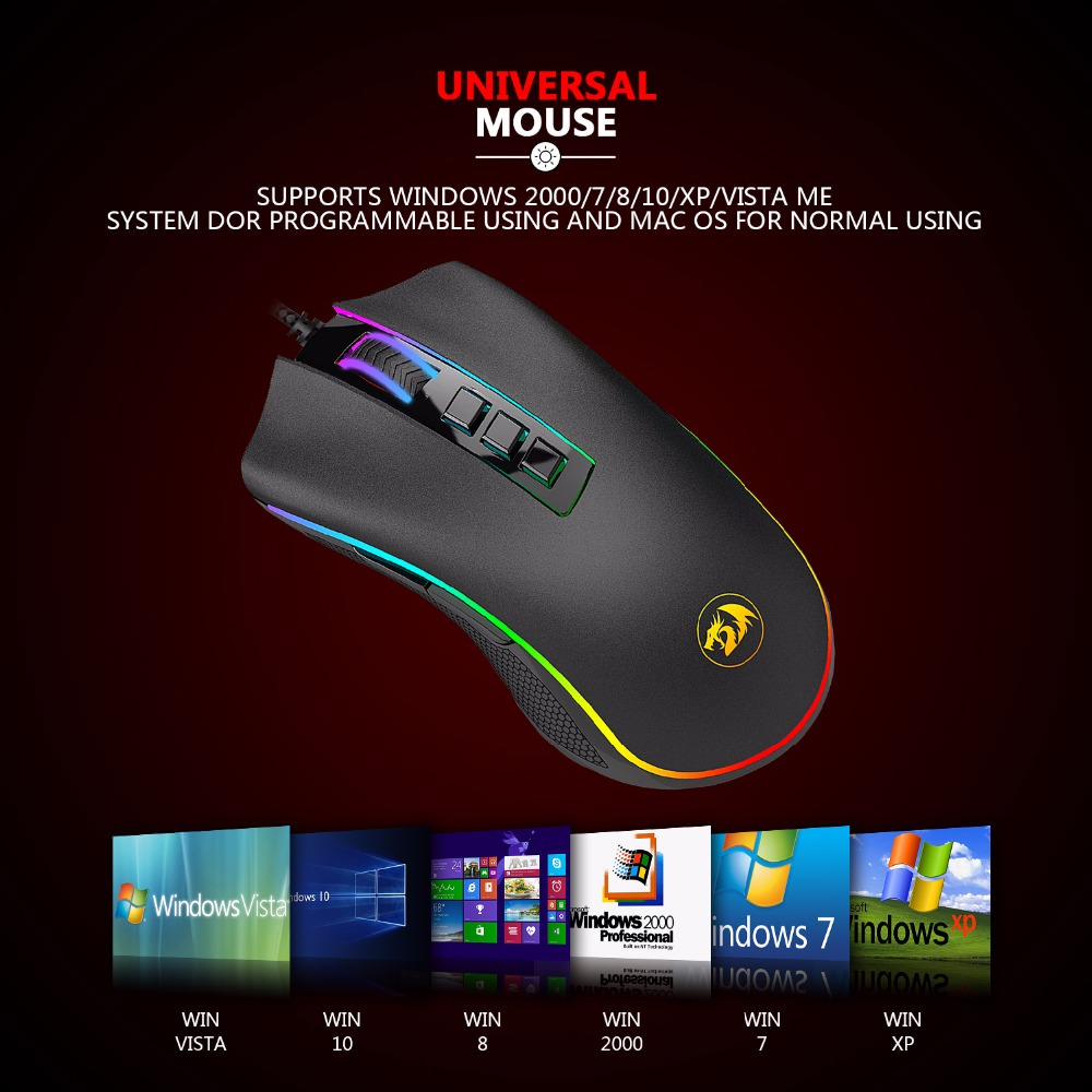 new redragon gaming mouse