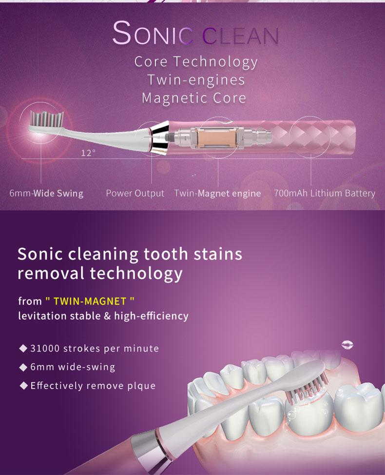 best seago s1 sonic smart electric toothbrush