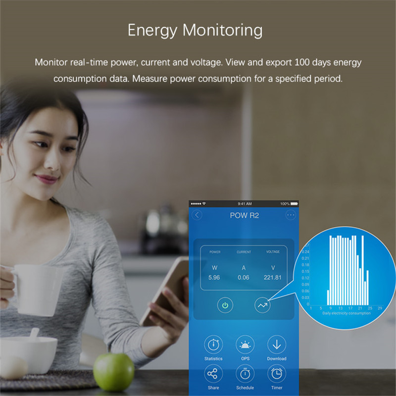 sonoff pow r2 wifi smart switch online