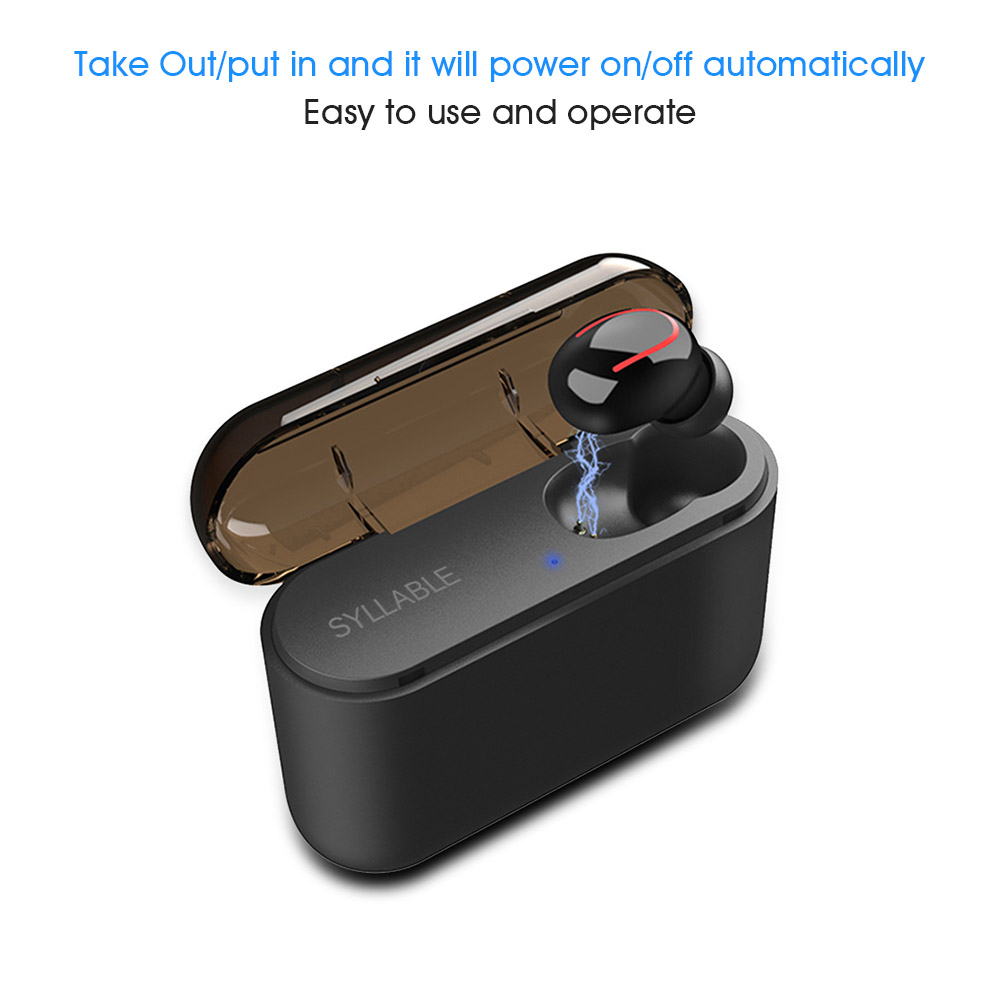 syllable q32 wireless earphone