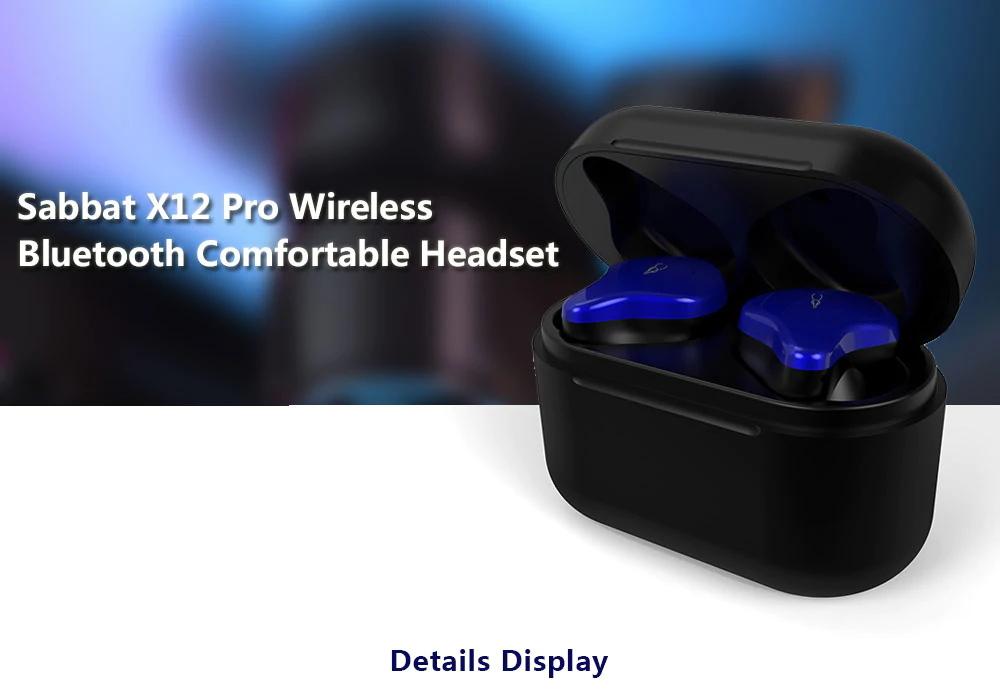 sabbat x12 pro wireless bluetooth earphones