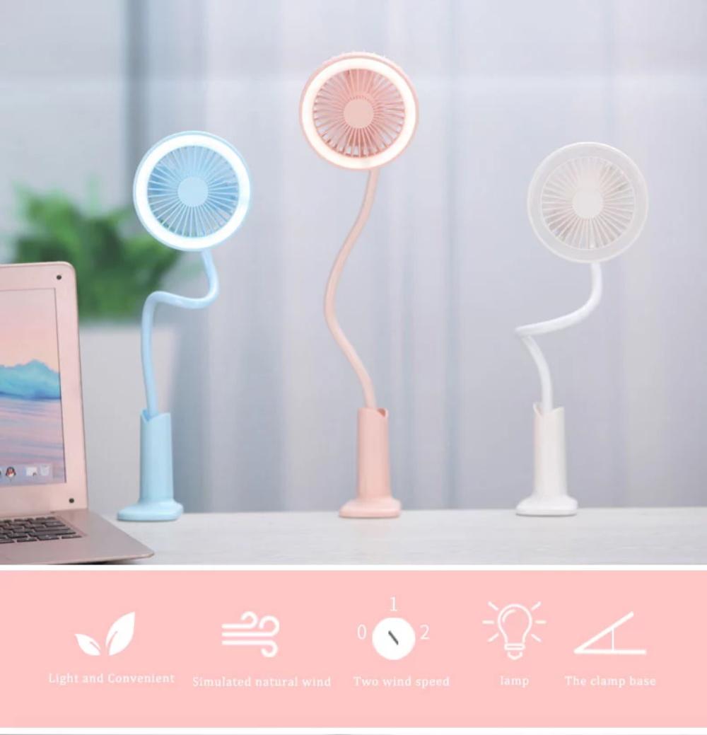 shower rechargeable clip fan