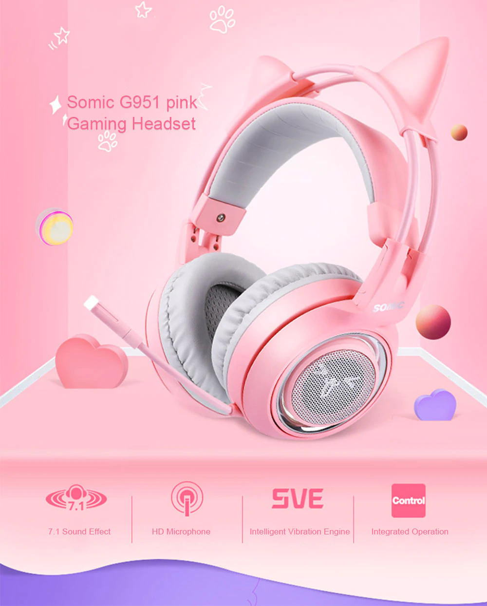 somic g951 gaming headset