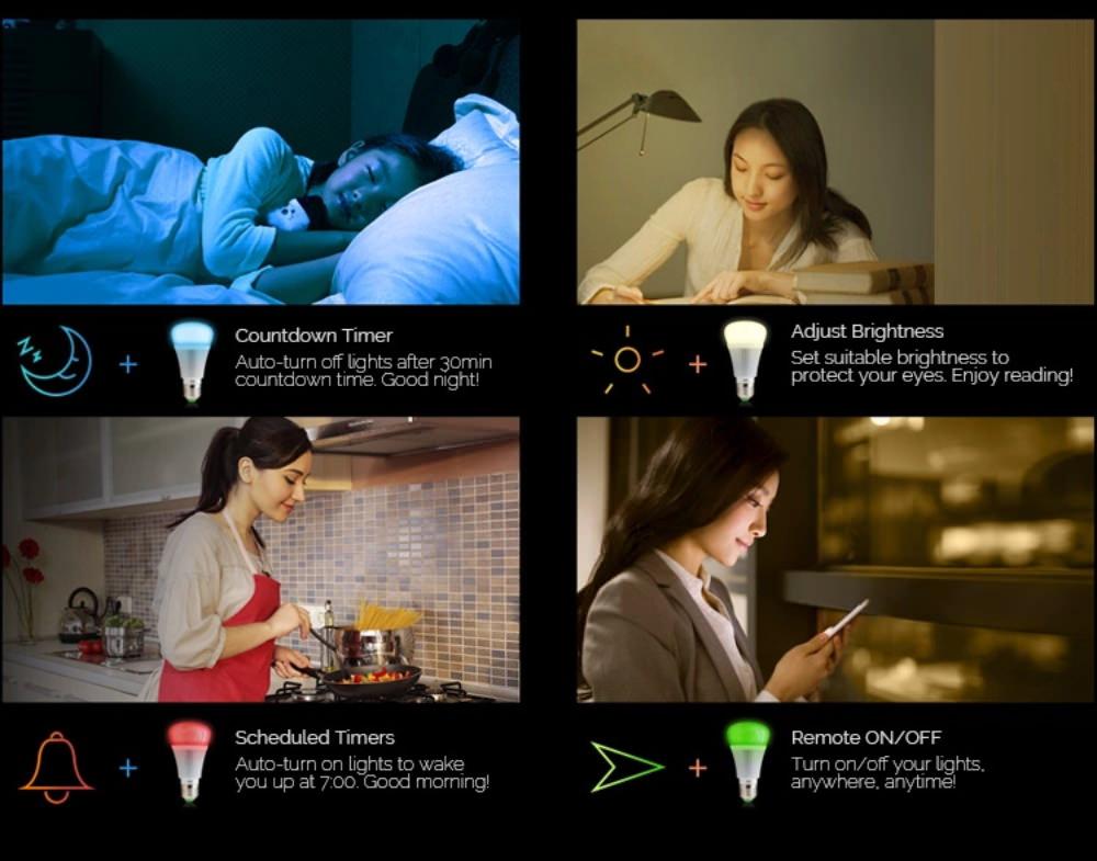 buy sonoff b1 smart led bulb
