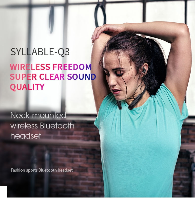 a4632c16f7a SYLLABLE Q3 Gunner Wireless Gaming Earphone | GearVita