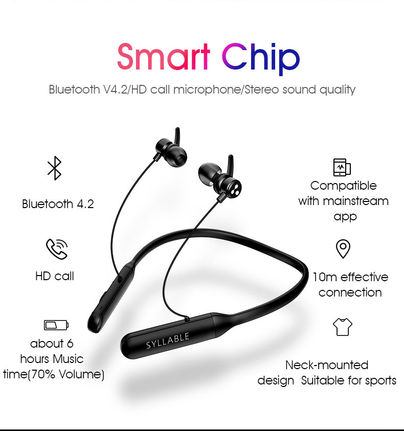 syllable q3 wireless gaming earphone