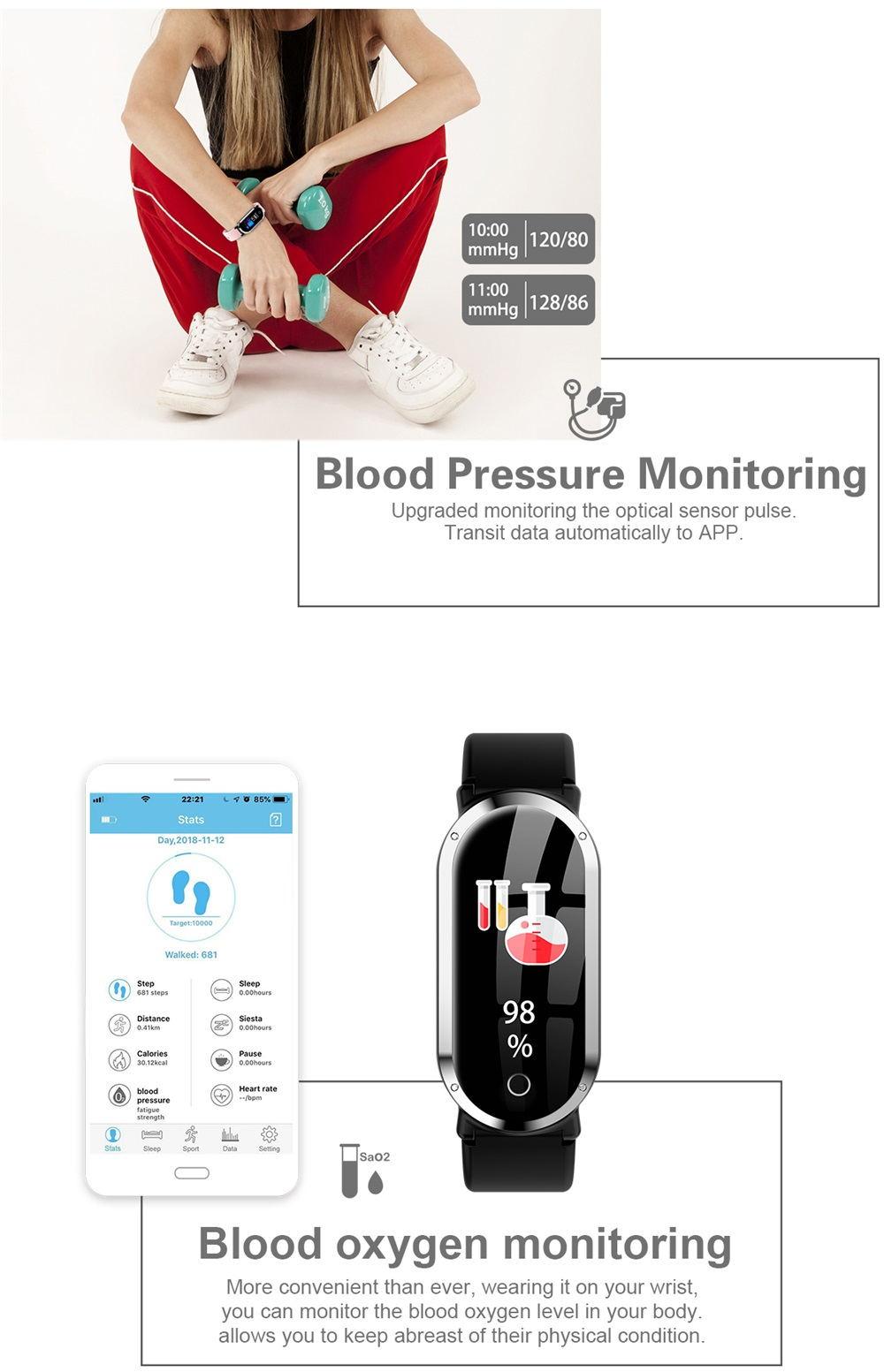 t1 smart wristband sale