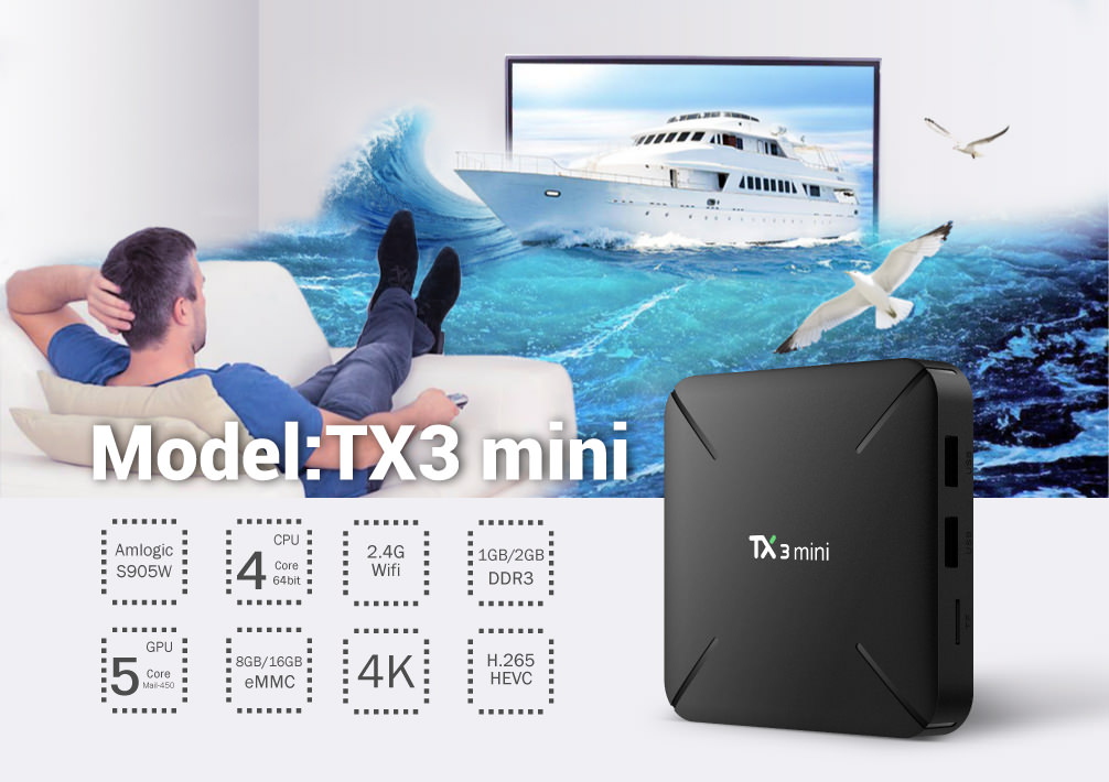 tanix tx3 mini l tv box