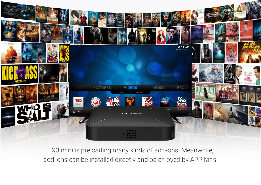 2018 tanix tv box