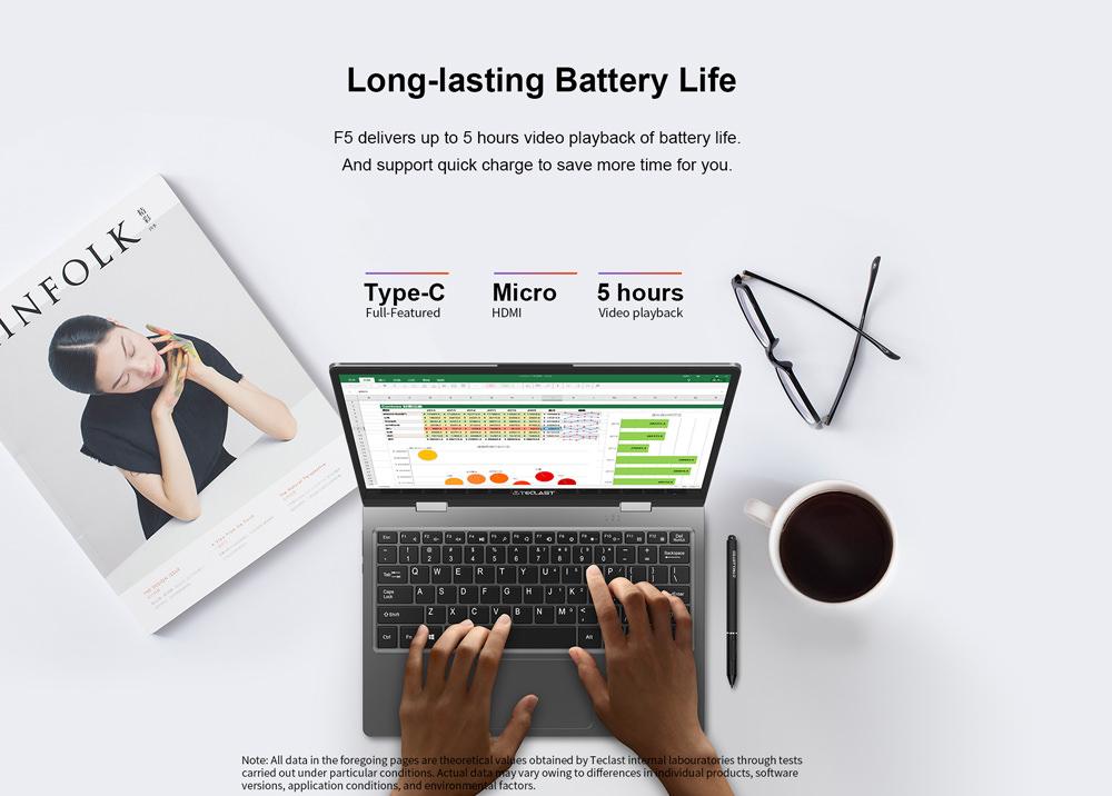 teclast f5 laptop online sale