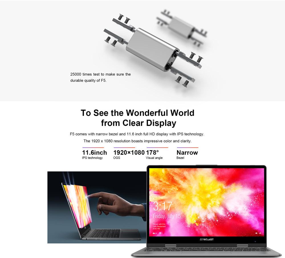 teclast f5 laptop online